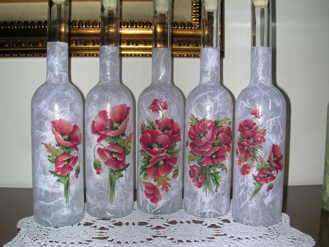 Bottiglie vetro decorate pf45 regardsdefemmes - Bottiglie vetro decorate ...